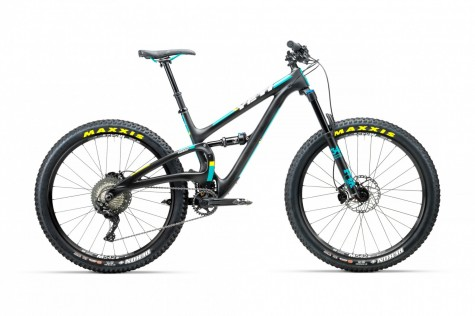 Yeti SB5+ C-Series XT/SLX Bike 2018- Raw/ Turquoise