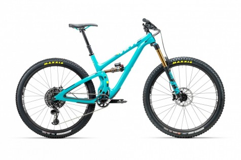 Yeti SB5.5 T-Series XO1 Eagle Bike 2018- Turquoise