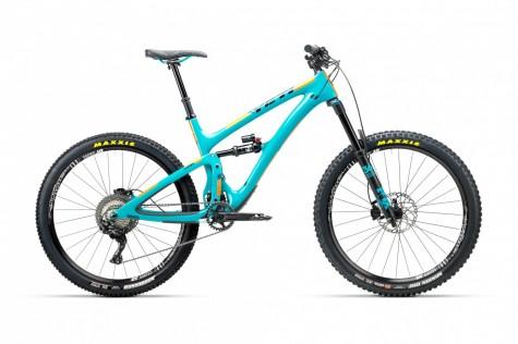 Yeti SB6 C-Series XT/SLX Bike 2018- Turquoise