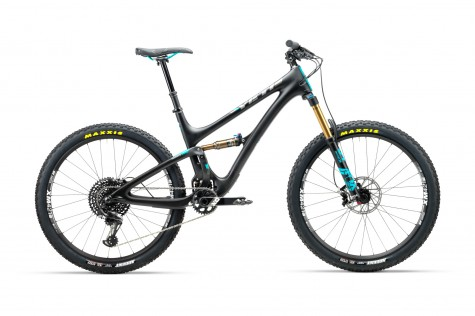 Yeti SB5 T-Series XO1 Eagle Bike 2018- Raw/Grey