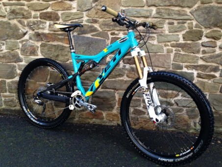 Yeti 575- small- Full XTR, Chris King build £1975
