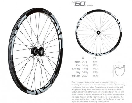 ENVE 60FORTY Wheels
