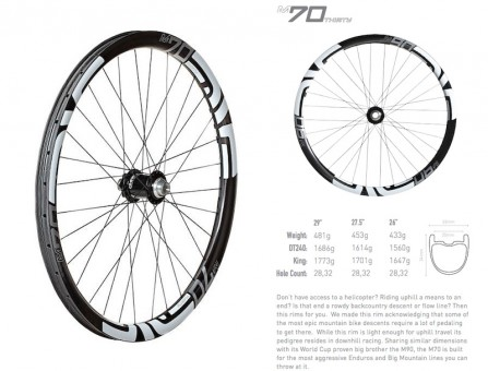 ENVE 70Thirty Wheels
