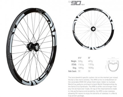 ENVE 90TEN Wheels