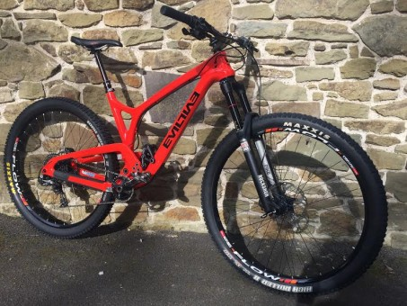 Our all new 2016 Evil Following demo bike