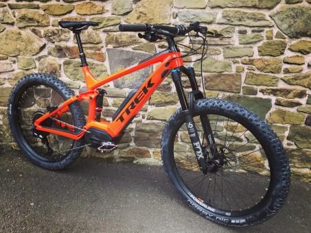 2018 Trek Powerfly FS 9 LT demo e-bike