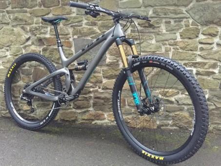 2016 Yeti SB5.5c demo bike