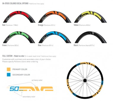 ENVE M-Series Colour Options