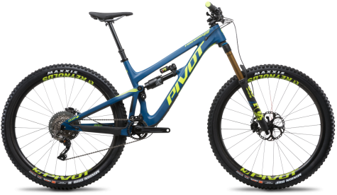 Pivot Cycles Firebird 29- Steel Blue