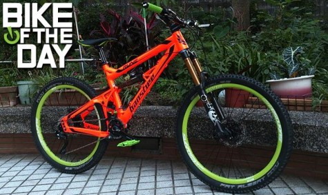 Banshee Bike- Rune- Spitfire- Fluro Orange