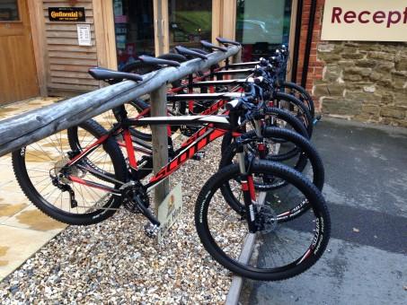 Bike Hire- Long Mynd and Church Stretton