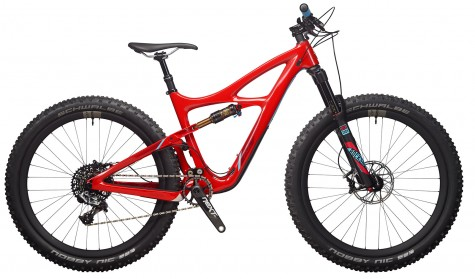 The all new Ibis Cycles Mojo 3- Corinthian Red