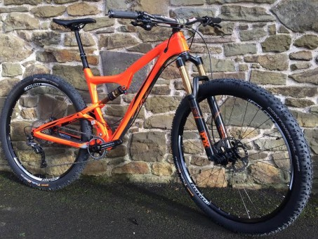 2016 Ibis Ripley LS demo bike