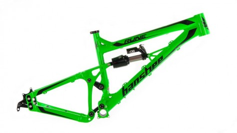 Banshee Rune- Fluro Green