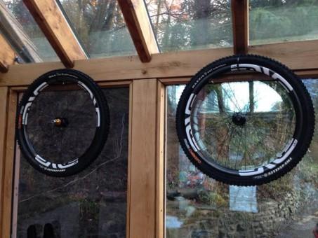 "ENVE custom wheel builds- 26"" AM rims/ Hope Pro 2 Evo hubs"