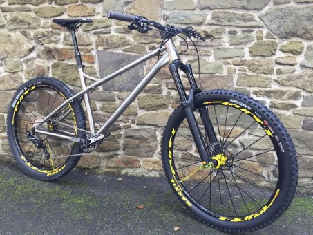 Kingdom Bikes U K Stockist Dealer Custom Build Titanium